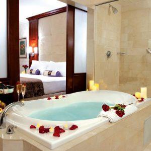 hydrotherapy tub and bathroom