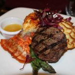 Lobster surf and filet mignon turf