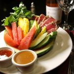 Viana tuna summer salad with Ahi Tuna