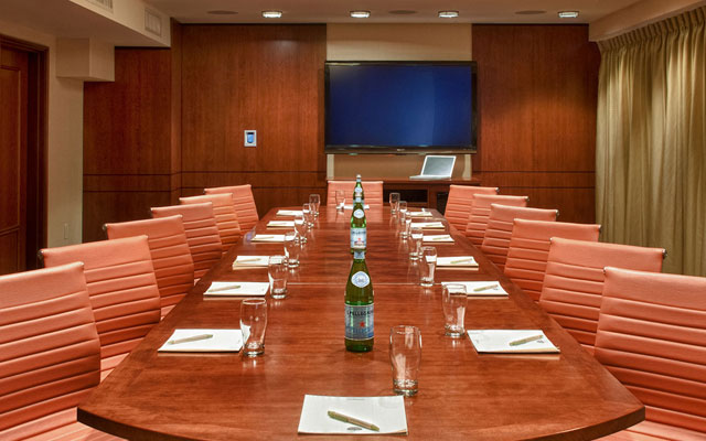 executive business meeting room