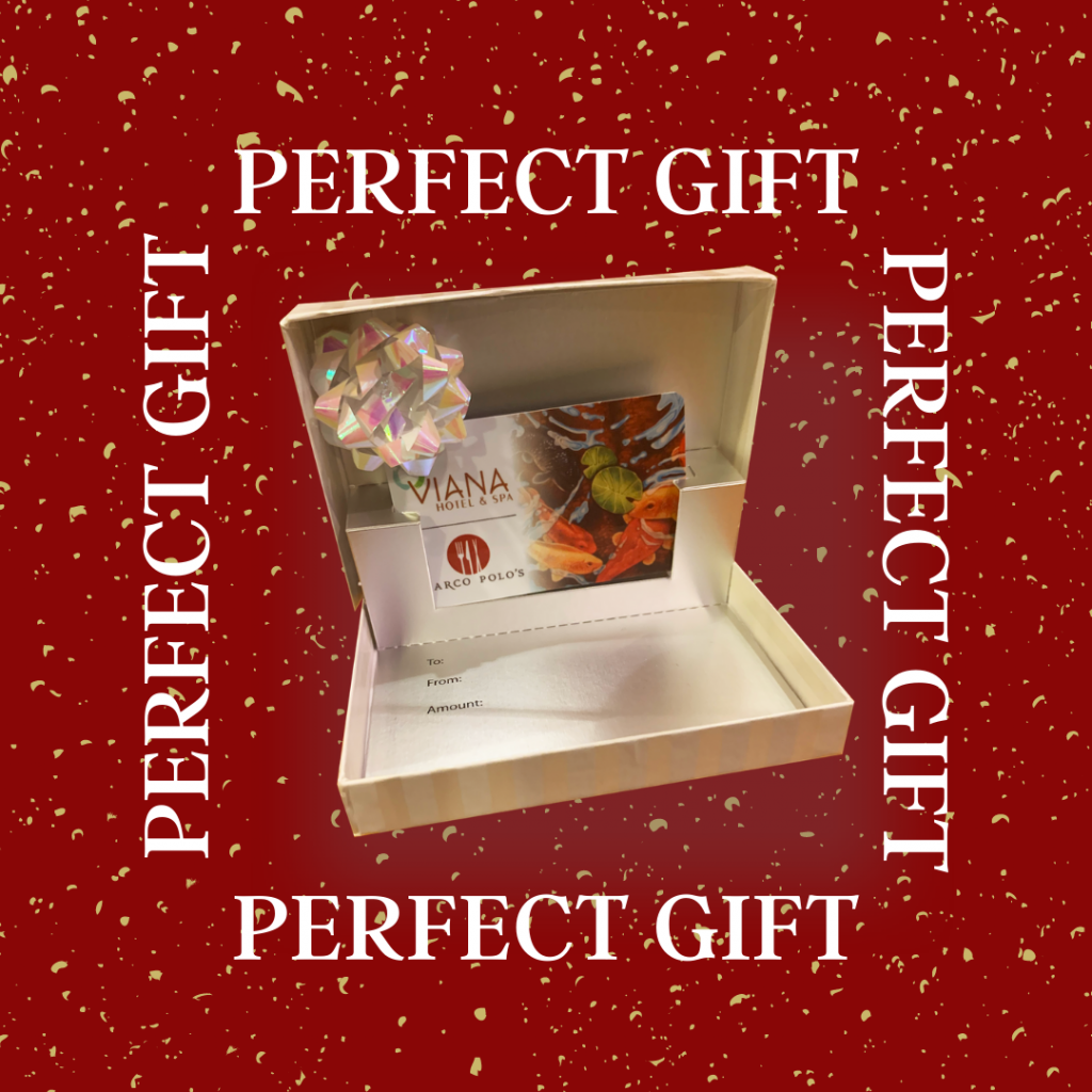 gift card in a box with a bow